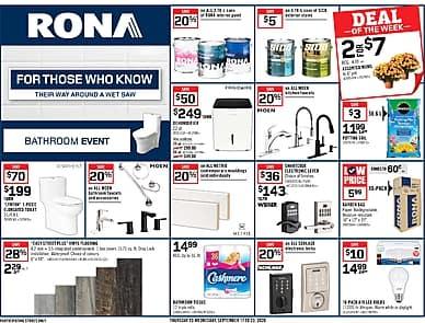 Weekly Flyer   Rona