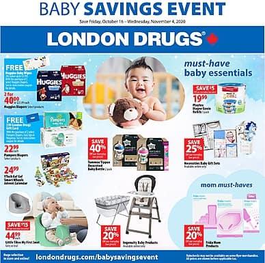 Baby Savings Event | London Drugs