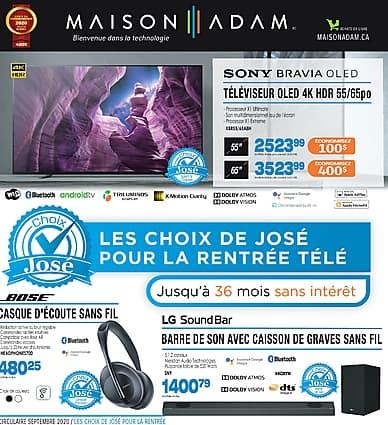 Weekly Flyer | Maison Adam
