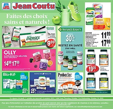 Two-Week Flyer | Jean Coutu