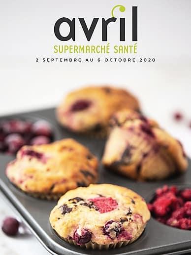 September Flyer | Avril Supermarché Santé