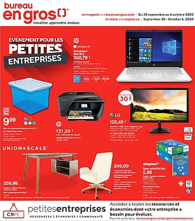 Weekly Flyer | Bureau en Gros
