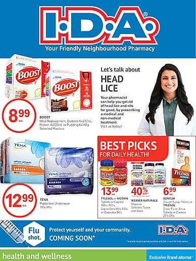 Month Long Savings | I.D.A.
