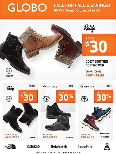 Fall For Fall's Savings! | Globo Shoes