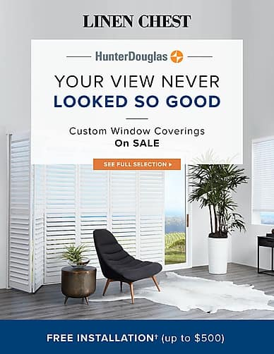 Your View Never Looked So Good | Linen Chest