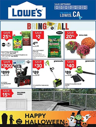 Weekly Flyer | Lowe's