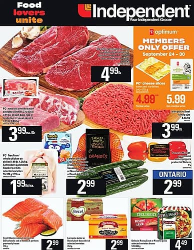 Weekly Flyer   Your Independent Grocer