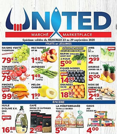 Weekly Flyer | United Seafood Packers