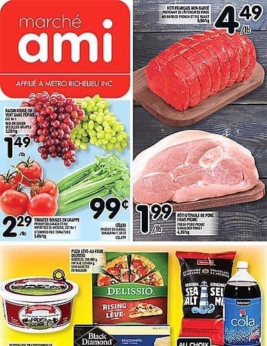 Weekly Flyer | Marché Ami