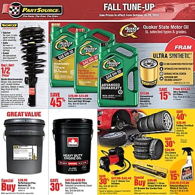 Fall Tune-Up   PartSource
