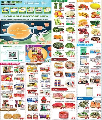 Weekly Flyer | Nations Fresh Foods