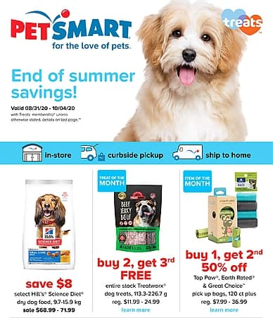 End of summer savings | PetSmart