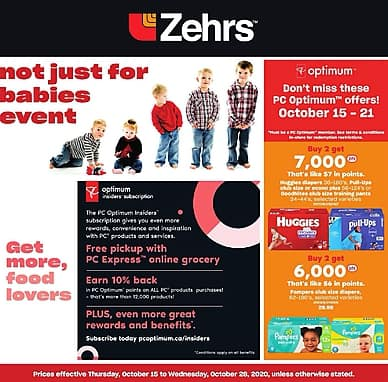 Not Just For Babies Event | Zehrs